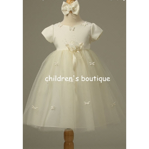 Butterfly Ribbon Infant Dress