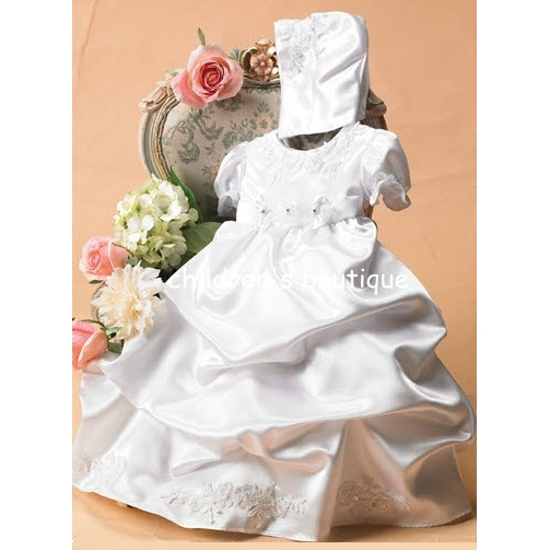 Christening Dress With Pick Up Skirt