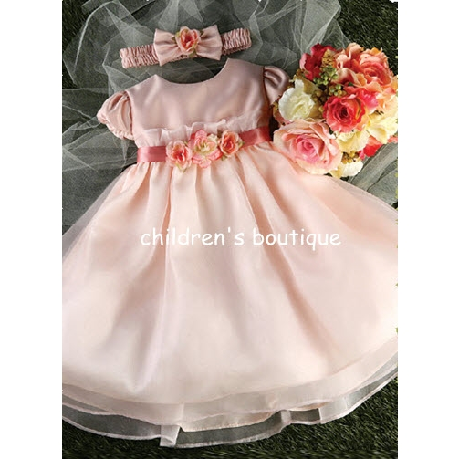 Organza Infant Party Dress
