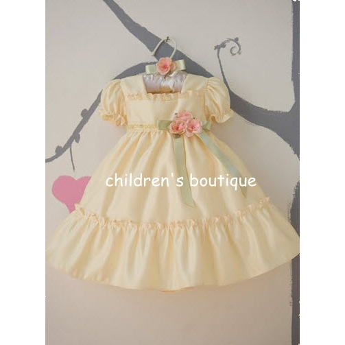 Baby Girl Dress With Ruffle