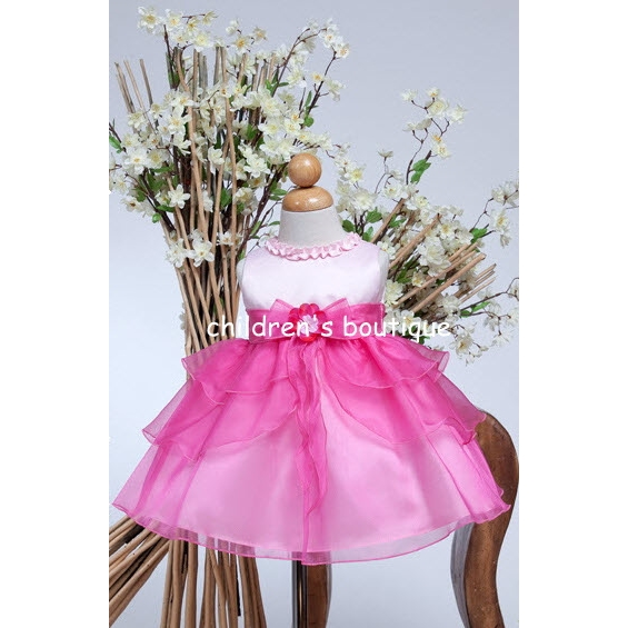 """Bella"" Organza Baby Fancy Dress"