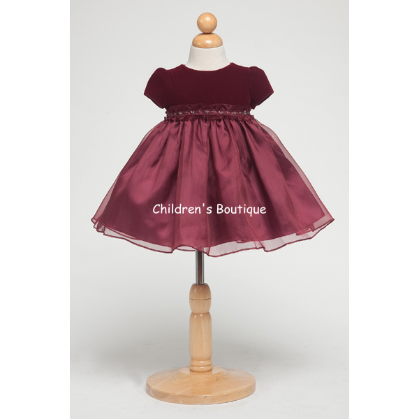 Velvet Girls Holiday Dress