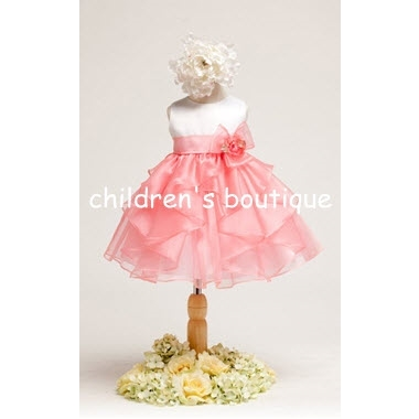 Organza Petal Baby Fancy Dress