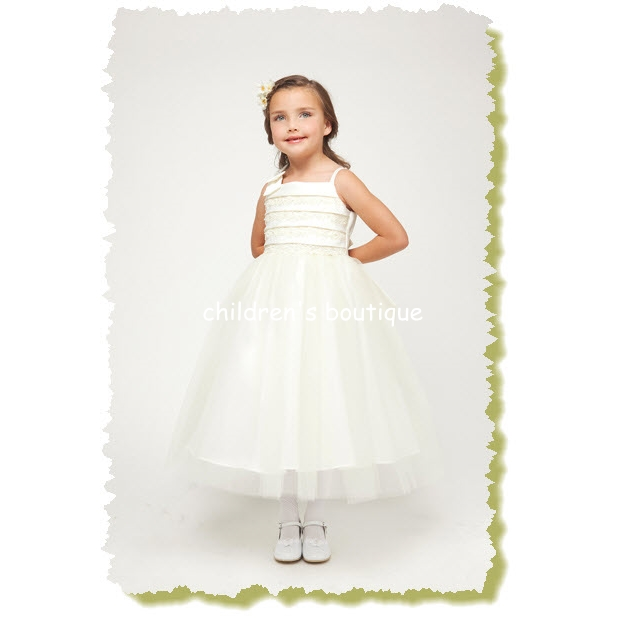 Ballerina Flower Girl Dress