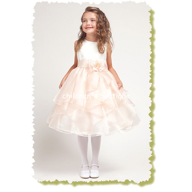 Sahana Flower Girl Dress
