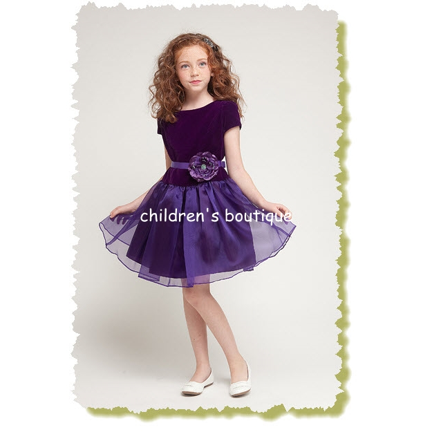 Velvet Girls Formal Dress
