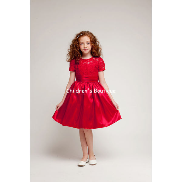 Lace Girls Holiday Dress