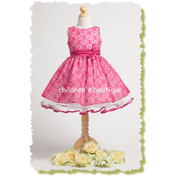 Lace Girls Party Dress