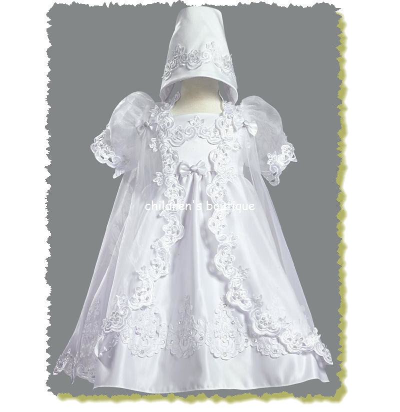 Christening Gown With Robe