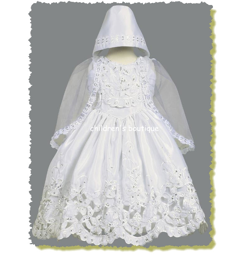 Christening Gown With Cape