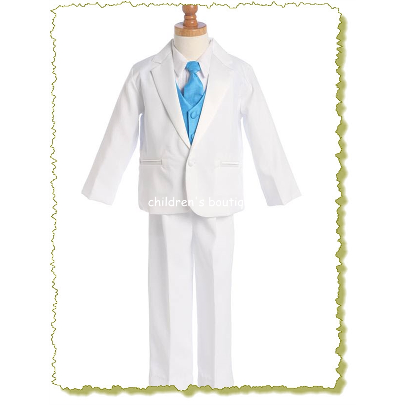 Boys Tuxedo With Vest And Necktie