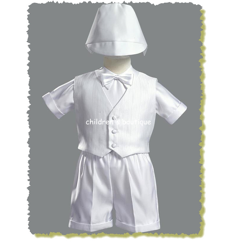 Christening Suit with Vest
