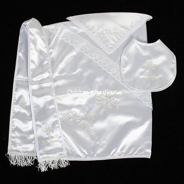 Boy's Christening Blanket