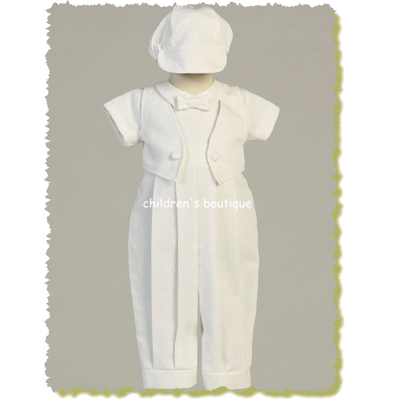 Benjamin Christening Suit With Vest