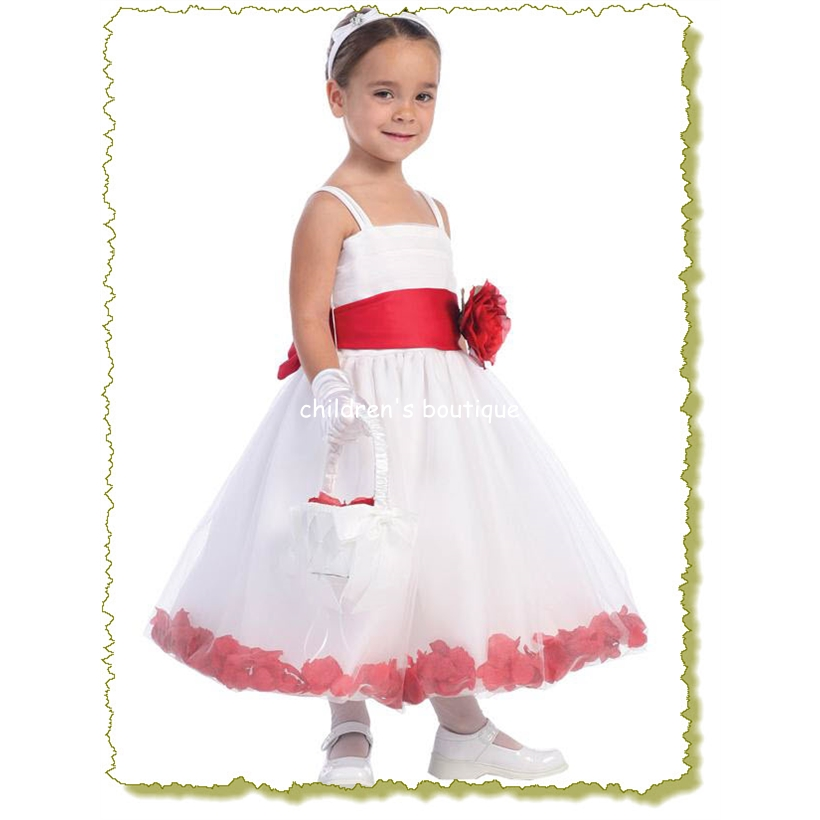 Petals Flower Girl Dress