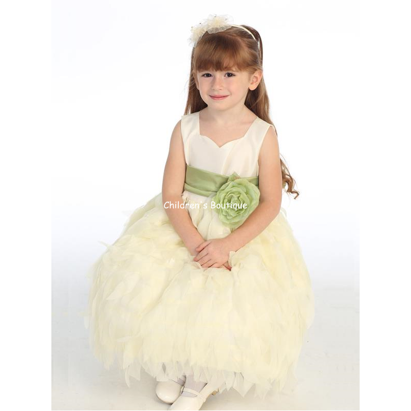 Chiffon Flower Girl Dress