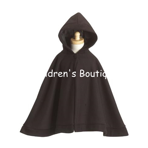 Fleece Cape With Hood