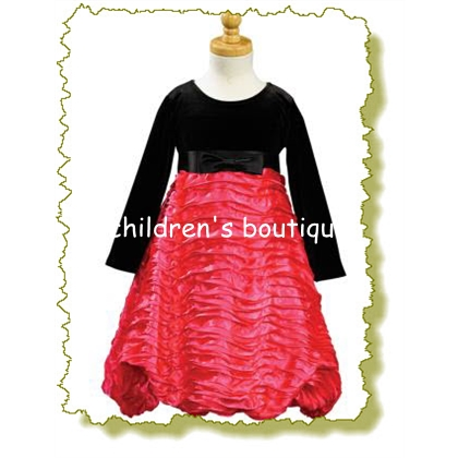 Taffeta Holiday Dress