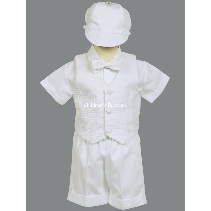 Dexter Baptism Short and Vest Set