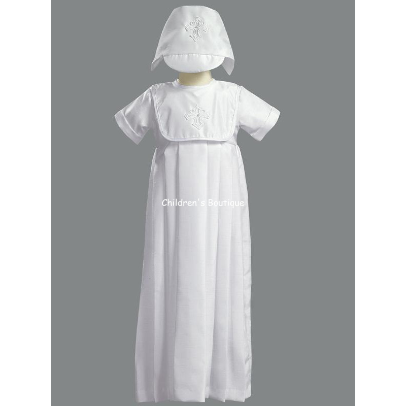 Boys Long Baptism Gown
