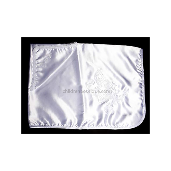 Satin Christening Blanket
