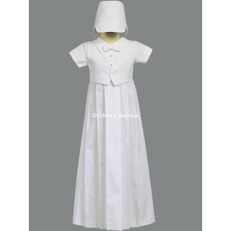 Lawrence Boys Baptism Gown:our prces$32.29 Save: 15% off