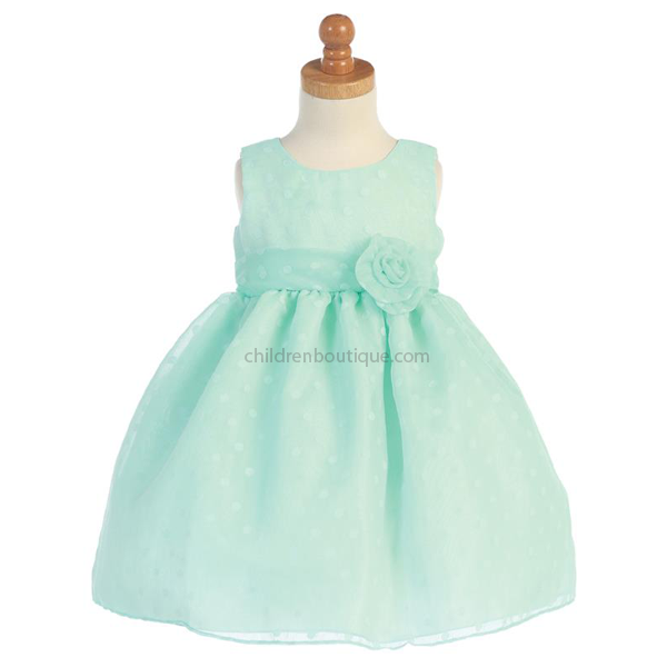 Mint Green Girls Dress