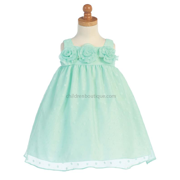 Mint Green Party Dress