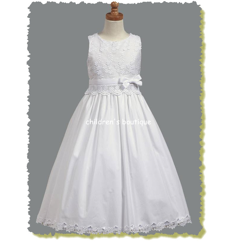 Cotton First Communion Dress