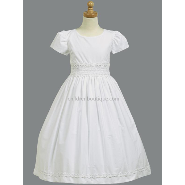 Smocked First Communion Dress