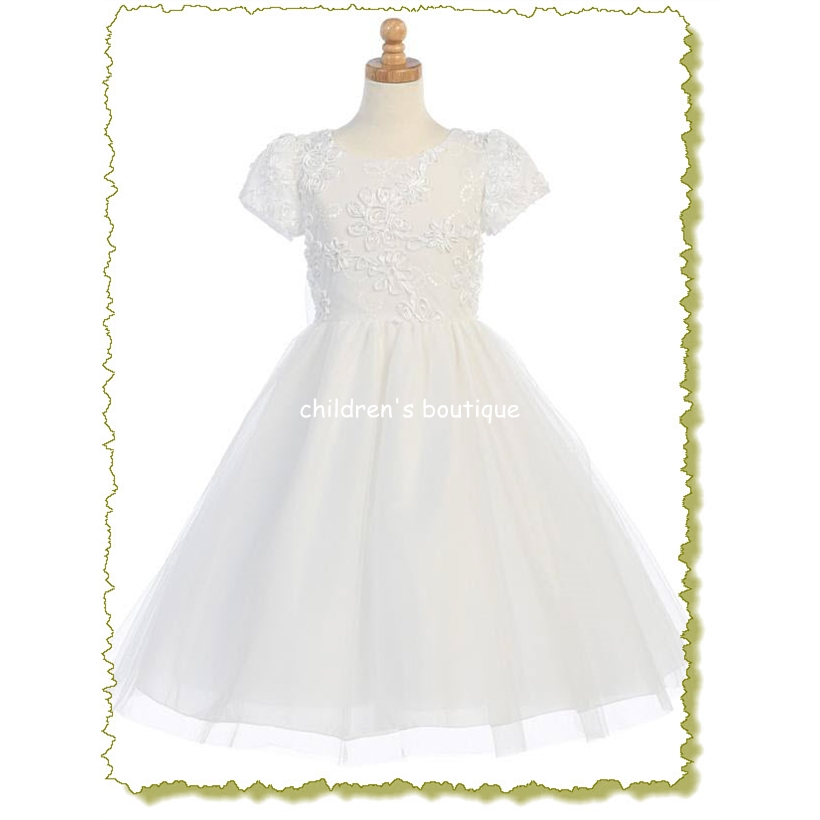 Ribbon 1st Communion Dress