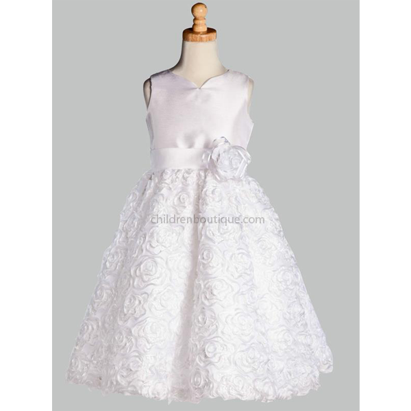 Sequin First Communion Dress