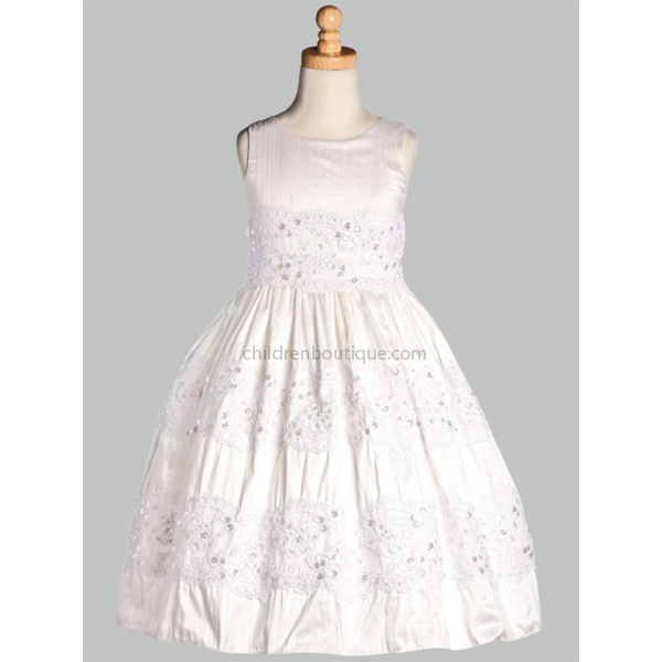 Silk First Communion Dress