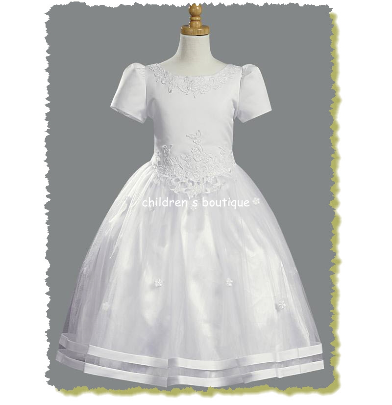 Tulle Communion Dress
