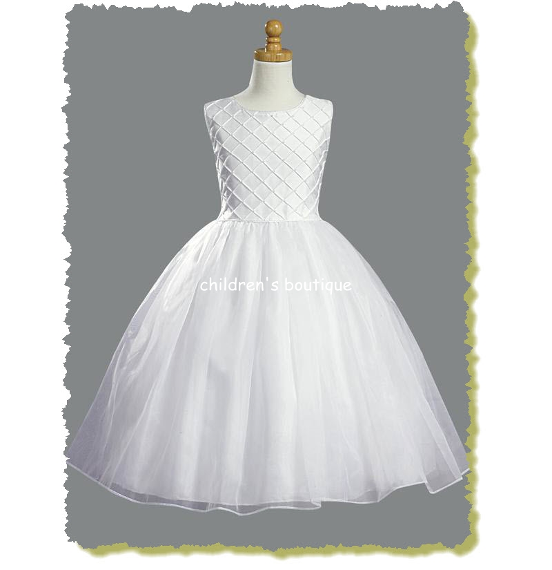 Shantung First Communion Dress