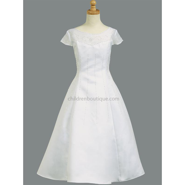 A-Line First Communion Dress