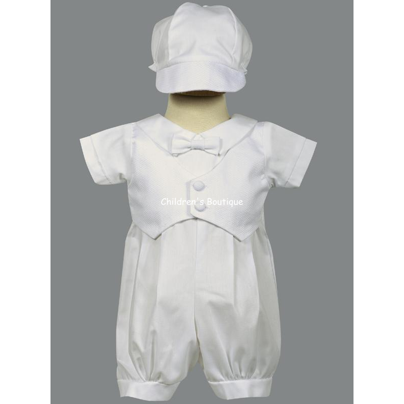Tyler Boys Baptism Outfit