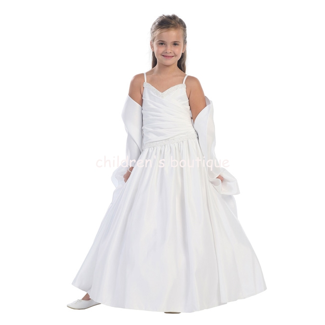 """Jayne"" Flower Girl Dress"