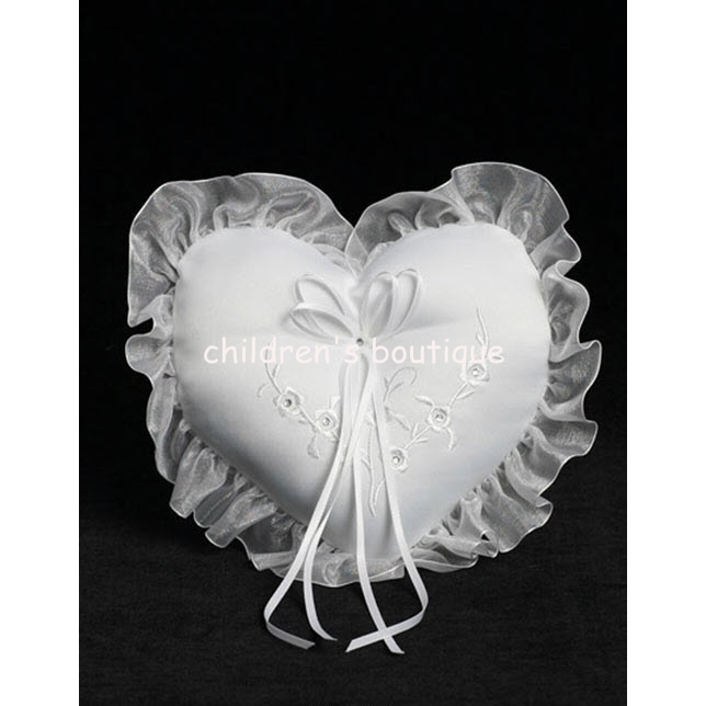 Heart Ring Bearer Pillow