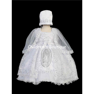 Sequin Baptism Gown
