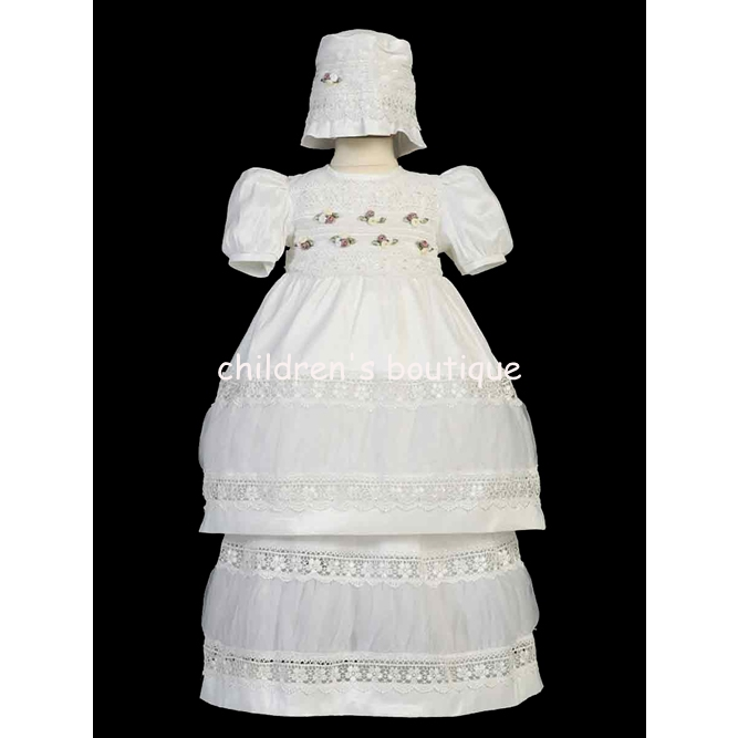 Ropon Style Christening Gown