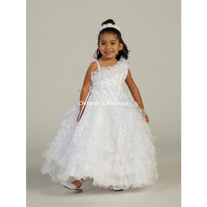 Ruffles Girls Pageant Dress
