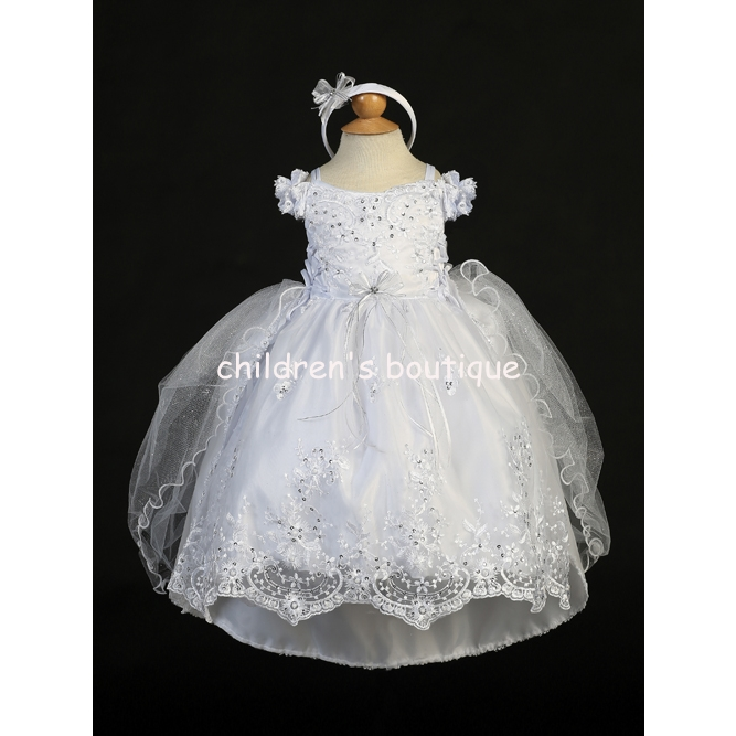 Christening Gown With Train