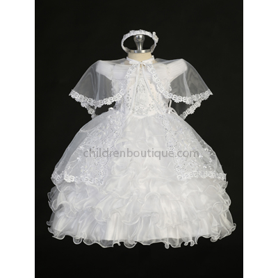 Organza Baptism Gown