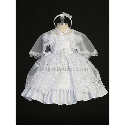 Guardian Angel Baptism Gown