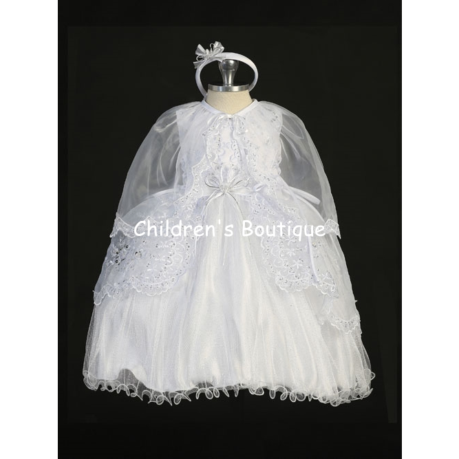 Sleeveless W/ Sweetheart Neckline Embellished Organza Lace