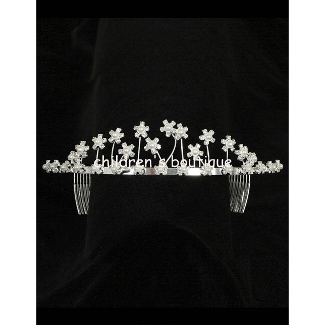 Pearl And Rhinestone Tiara