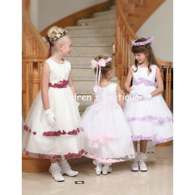 Petal Flower Girl Dress