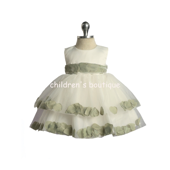 Infant Flower Petal Dress
