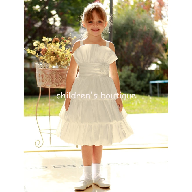 Bubble Flower Girl Dress